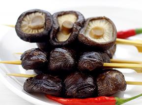 素食香菇串